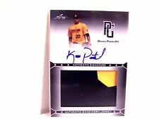 Keven Pimentel 2013 Leaf Perfect Game Auto Patch Jersey Rookie Card   FREE SHIP