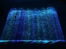 LED Fiber Optic Light up Fabric to Make Clothing Tablecloth Wings (one battery)