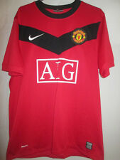 Manchester United Man Utd 2009-2010 Home Football Shirt Size Medium /8058