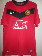 "Manchester United Man Utd 2009-2010 Home Football Shirt Medium 39""-41"" /39578"