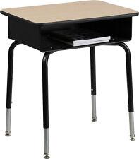 Flash Furniture Student Desk w/Open Front Metal Book Box Fd-Desk-Gg Student Desk
