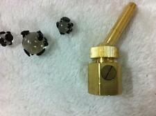 "1"" Adjustable Brass Universal Straight Jetting Fountain Nozzle  Fountain Head"