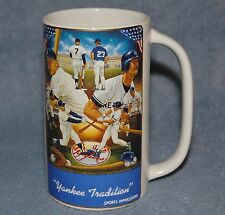 1987 Sports Impressions Mantle & Mattingly Yankee Tradition Stein #3889 of 5000