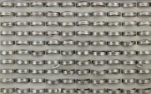 35pcs Wholesale Bulk Lots New Fashion Unisex Jewelry Stainless Steel Rings