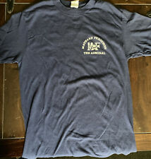 Rare Vintage 80's Maynard Ferguson The Admiral Double Sided T-shirt Med