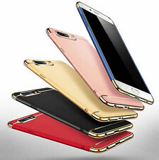 3in1 Luxury Electroplating Protective Back Case Cover For OPPO A39/57/59 R9s R11