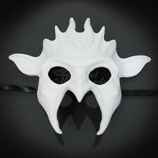 Unpainted White Blank Masquerade Mask, Venetian Cosplay Party DIY Mask (M31177)