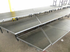 Wenger Trouper Stage Seated Choral Chorus Choir Risers 3 Tier