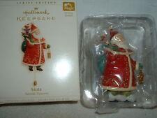 2006 Magic Hallmark Keepsake Christmas Ornament Santa Yuletide Treasures MIB