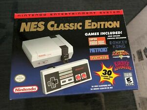 New Authentic Nintendo Classic Edition NES Mini Game Console
