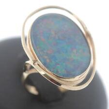 Opal Ring 585 Gold 14 Kt Gelbgold Edelstein Wert 760,-