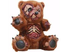 Zombie Teddy Bear Halloween Horror Prop Gory Doll Fur Blood Dead