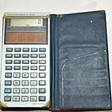 New ListingTexas Instruments Ti-30 Slr Electronic Calculator With Case Vintage Solar Power