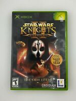 Star Wars: Knights of the Old Republic II - The Sith Lords - Xbox - Complete