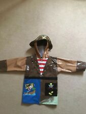 Kidorable Pirate Raincoat Size 116cms/122cms 5-6 Yrs