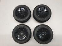 Carson Reifen Off- Road, 4 Stück, auf Speichen Felge schwarz, 1:8 Buggy