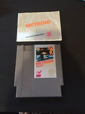metroid nes With Manual