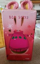 Next Bed socks new in box! Cute Rabbit ideal gift