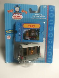 Thomas And Friends Toby Take Along Tank Engine Die Cast Metal New Free Shipping