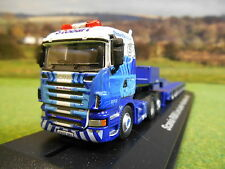 OXFORD ATLAS EDDIE STOBART RAIL SCANIA R560 & NOOTEBOOM LOWLOADER SHL01LL NEW!