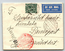Great Britain 1932 Airmail Cover to Hungary / Luft Hansa - Z13774