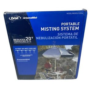 Orbit Portable Misting System Reduces 20° F' 10 Feet / Brand New in Box 20266
