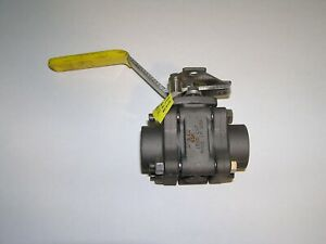 Apollo 83A-145-01 Three-Piece Female Full Port Ball Valve with SS Ball and Stem