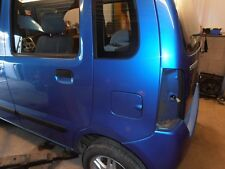 SUZUKI WAGON R.  Fuel Flap. In Adriatic Blue (Code Z7B).