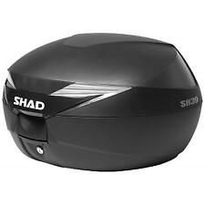 SHAD Baul trasero o maleta para scooter o moto SH39 SH 39 carbono carbonlook