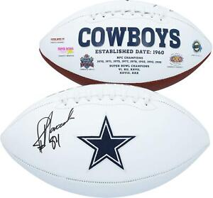 Jay Novacek Dallas Cowboys Autographed Wilson White Panel Football