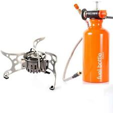 Outdoor Portable Multi Fuel Backpacking Camping Picnic Stove Oil Gas Furnace S6S