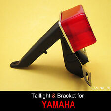 Yamaha DT100 DT125 DT175 Enduro 6 V Taillight Rear Light + License Plate Bracket