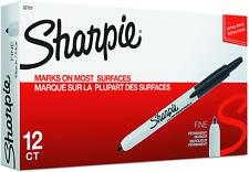 Sharpie Retractable Permanent Markers Fine Point Black