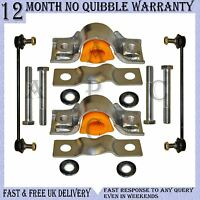 FRONT ANTI ROLL BAR POLYURETHANE BUSH REPAIR KIT LINKS FOR PEUGEOT EXPERT TEPEE