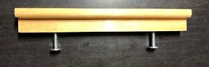1 Ikea Wood Door Handle ANEBODA Wardrobe / Dresser w/ Screws Birch 117257 106923