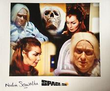 NADIM SAWALHA - SPACE 1999 - TV SERIES ACTRESS - SUPERB SIGNED COLOUR PHOTOGRAPH
