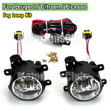 Brouillard Lampe Pour Peugeot 207 307 408 Citroen C4 C5 Picasso 2005 Câblage