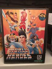 World Heroes NeoGeo AES Jap