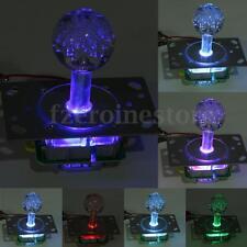 LED Illuminated Arcade Joystick Colorful Replacement Parts USB Encoder to PC