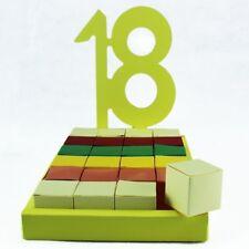 DLM24812 Bomboniere a Torta Fai da Te 18 Compleanno bomboniera