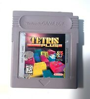 Tetris Plus ORIGINAL Nintendo Game Boy Tested Working & Authentic!