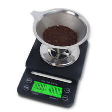 Espresso Scale 0.1g + Shot Timer / Drip Scale Timer / Coffee Scale with Timer