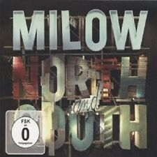 "MILOW ""FROM NORTH TO SOUTH (LIVE)""  CD + DVD NEU"