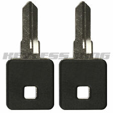 2 New Replacement Motorcycle Bike Ignition Key Blade Uncut for Sportster Series