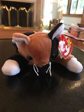 Chip the Cat - rare retired beanie baby in good condition, TM and R on tush tag