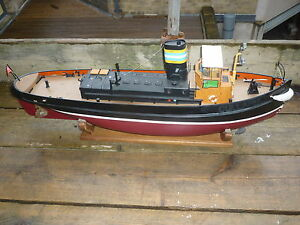 A radio control Tug boat CULLAMIX. well built and painted.