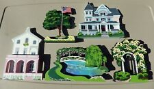 Shelia's Collectibles - set/lot of 5 Misc. houses from various Collections - New