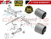 FOR VOLVO S60 2010- S80 2007- REAR LOWER BOTTOM SUSPENSION ARM FRONT REAR BUSHES