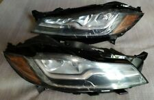 JAGUAR F-PACE HEADLIGHTS HEADLAMPS. FULL LED XFR XF. USA SPEC. RIGHT+LEFT. PAIR.