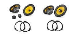 BMW X5 E53 2000 - 2006 JL Audio C1 Anteriore E Posteriore Porta Altoparlante UPGRADE KIT